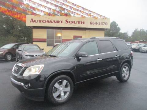 2011 GMC Acadia for sale at Automart South in Alabaster AL