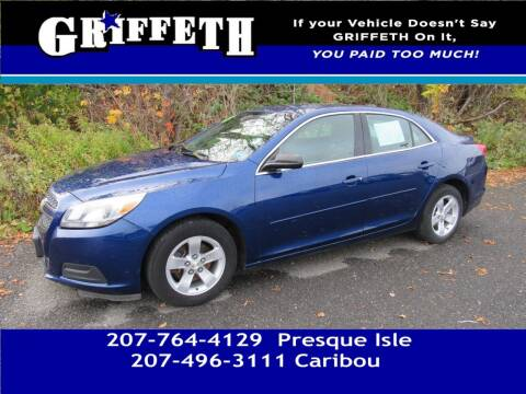 2013 Chevrolet Malibu for sale at Griffeth Mitsubishi - Pre-owned in Caribou ME