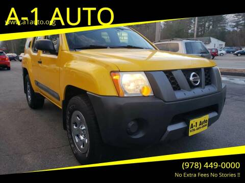 2006 Nissan Xterra for sale at A-1 Auto in Pepperell MA