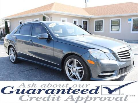 2013 Mercedes-Benz E-Class for sale at Universal Auto Sales in Plant City FL