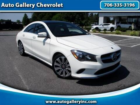 2018 Mercedes-Benz CLA for sale at Auto Gallery Chevrolet in Commerce GA