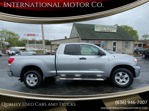 2007 Toyota Tundra for sale at International Motor Co. in St. Charles MO