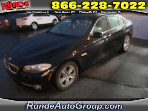 2013 BMW 5 Series for sale at Runde PreDriven in Hazel Green WI