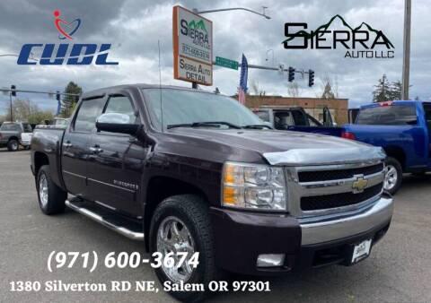 2011 Chevrolet Silverado 1500 for sale at SIERRA AUTO LLC in Salem OR