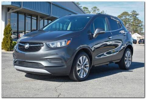 2017 Buick Encore for sale at STRICKLAND AUTO GROUP INC in Ahoskie NC