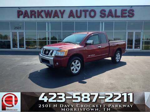2008 Nissan Titan for sale at Parkway Auto Sales, Inc. in Morristown TN