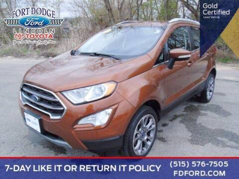 2018 Ford EcoSport for sale at Fort Dodge Ford Lincoln Toyota in Fort Dodge IA