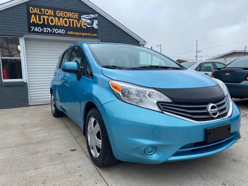 2014 Nissan Versa Note for sale at Dalton George Automotive in Marietta OH