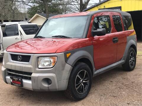 2005 Honda Element for sale at M & J Motor Sports in New Caney TX