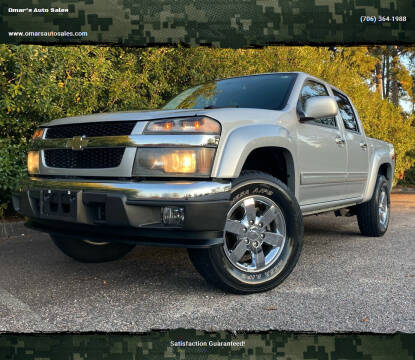 2010 Chevrolet Colorado for sale at Omar's Auto Sales in Martinez GA