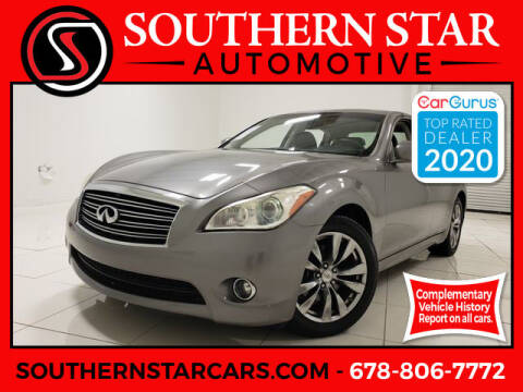 2012 Infiniti M37 for sale at Southern Star Automotive, Inc. in Duluth GA