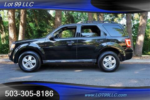 2011 Ford Escape for sale at LOT 99 LLC in Milwaukie OR