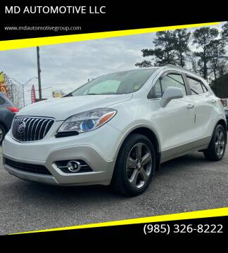 2013 Buick Encore for sale at MD AUTOMOTIVE LLC in Slidell LA