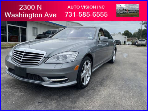 2010 Mercedes-Benz S-Class for sale at Auto Vision Inc. in Brownsville TN