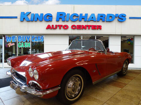 1962 Chevrolet Corvette for sale at KING RICHARDS AUTO CENTER in East Providence RI