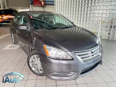 2013 Nissan Sentra for sale at iAuto in Cincinnati OH