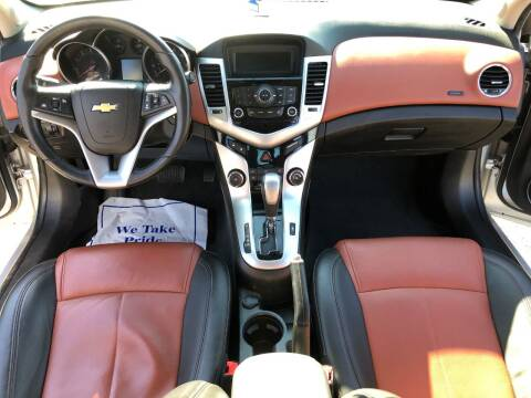2011 Chevrolet Cruze for sale at KARMA AUTO SALES in Federal Way WA