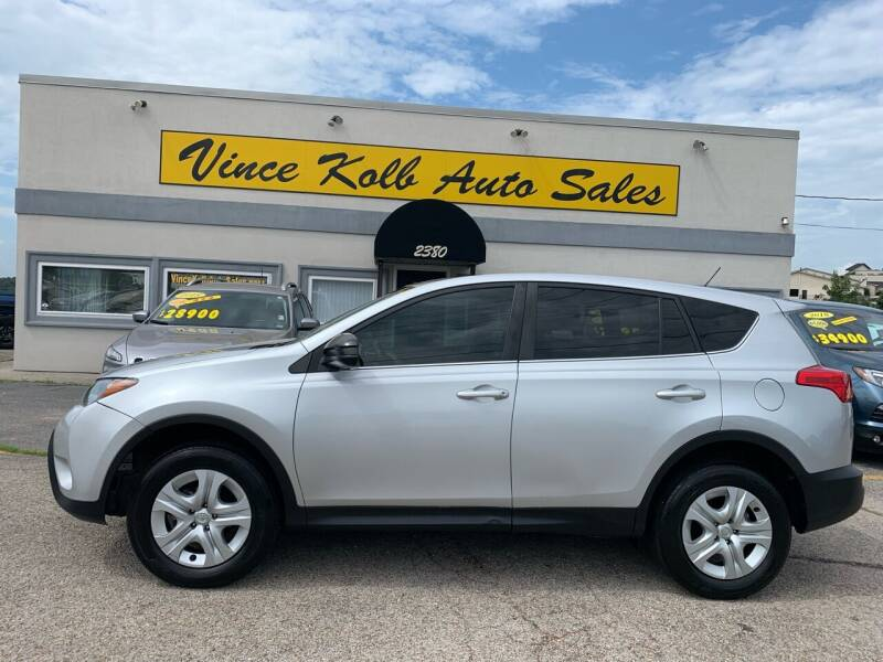 2015 Toyota RAV4 for sale at Vince Kolb Auto Sales in Lake Ozark MO