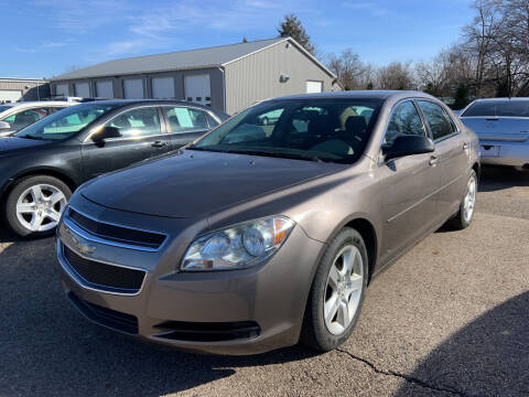 2010 Chevrolet Malibu for sale at Blake Hollenbeck Auto Sales in Greenville MI
