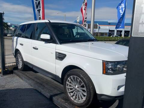 2011 Land Rover Range Rover Sport for sale at Navarro Auto Motors in Hialeah FL
