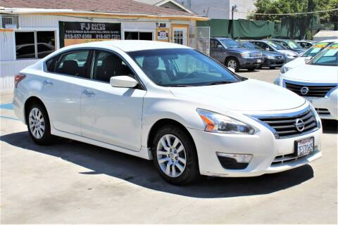 2014 Nissan Altima for sale at Good Vibes Auto Sales in North Hollywood CA