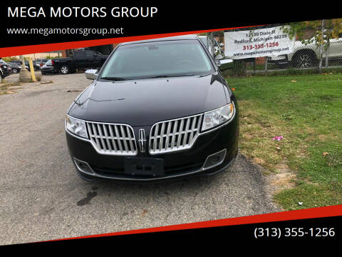 2010 Lincoln MKZ for sale at MEGA MOTORS GROUP in Redford MI