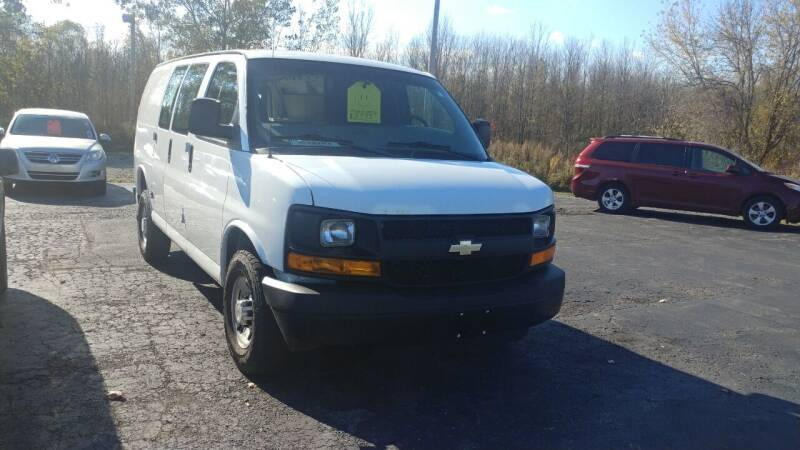2013 Chevrolet Express Cargo for sale at Pool Auto Sales Inc in Spencerport NY