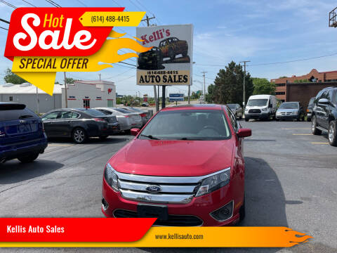 2012 Ford Fusion for sale at Kellis Auto Sales in Columbus OH