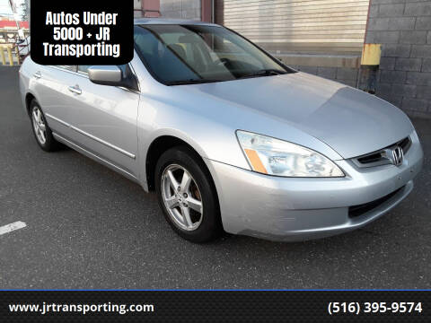 2004 Honda Accord for sale at Autos Under 5000 + JR Transporting in Island Park NY
