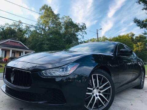 2015 Maserati Ghibli for sale at E-Z Auto Finance in Marietta GA