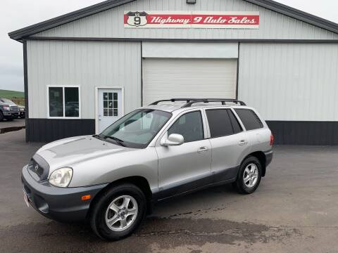2003 Hyundai Santa Fe for sale at Highway 9 Auto Sales - Visit us at usnine.com in Ponca NE