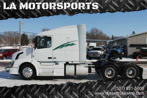 2012 Volvo VNL for sale at LA MOTORSPORTS in Windom MN