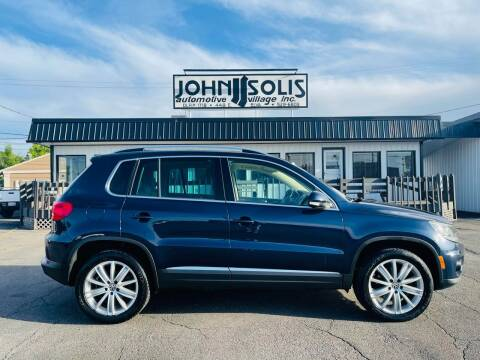 2012 Volkswagen Tiguan for sale at John Solis Automotive Village in Idaho Falls ID