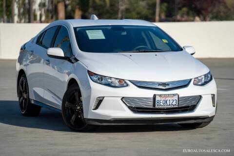 2018 Chevrolet Volt for sale at Euro Auto Sales in Santa Clara CA