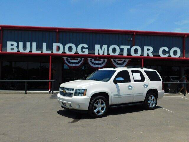 2014 Chevrolet Tahoe for sale at Bulldog Motor Company in Borger TX