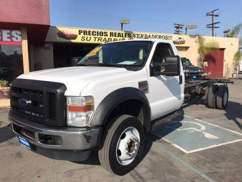 2009 Ford F-550 Super Duty for sale at Sanmiguel Motors in South Gate CA