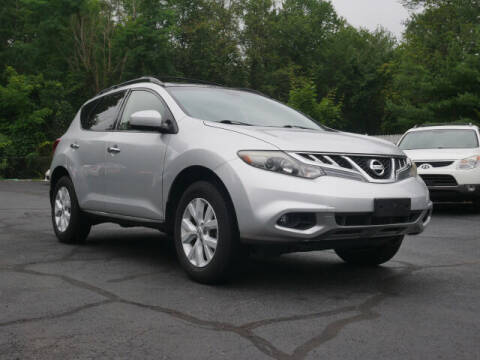 2012 Nissan Murano for sale at Canton Auto Exchange in Canton CT