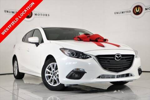 2015 Mazda MAZDA3 for sale at INDY'S UNLIMITED MOTORS - UNLIMITED MOTORS in Westfield IN