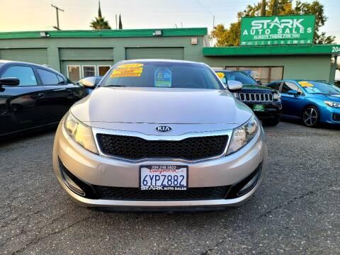 2013 Kia Optima for sale at Stark Auto Sales in Modesto CA