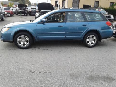 2008 Subaru Outback for sale at Nelsons Auto Specialists in New Bedford MA
