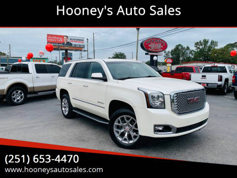 2015 GMC Yukon for sale at Hooney's Auto Sales in Theodore AL