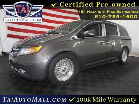 2014 Honda Odyssey for sale at Taj Auto Mall in Bethlehem PA