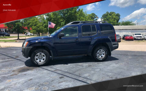 2006 Nissan Xterra for sale at Autoville in Kannapolis NC