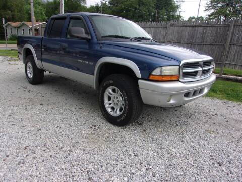 2002 Dodge Dakota for sale at JEFF MILLENNIUM USED CARS in Canton OH