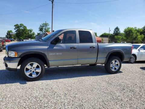 2005 Dodge Ram Pickup 1500 for sale at MIKE'S CYCLE & AUTO in Connersville IN