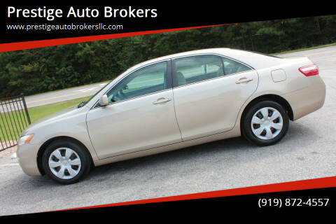 2007 Toyota Camry for sale at Prestige Auto Brokers in Raleigh NC