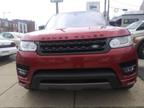 2017 Land Rover Range Rover Sport for sale at K J AUTO SALES in Philadelphia PA