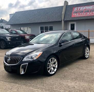 2016 Buick Regal for sale at Stephen Motor Sales LLC in Caldwell OH