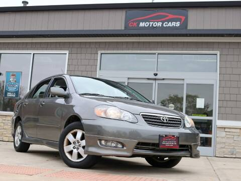 2008 Toyota Corolla for sale at CK MOTOR CARS in Elgin IL