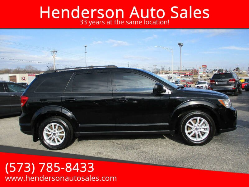 2014 Dodge Journey for sale at Henderson Auto Sales in Poplar Bluff MO